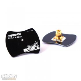 5.8GHz MenaceRC Invader Mini Patch Antenna RHCP SMA