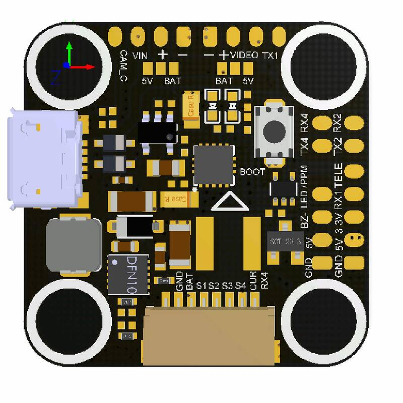 Aikon F4 Mini F42020 Flight Controller