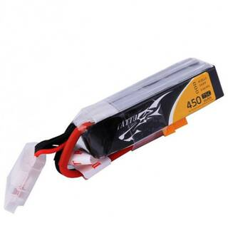 Tattu 4S 450mAh 75C Lipo Long XT30 Whoops