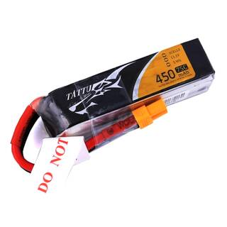 Tattu 3S 450mAh 75C Lipo Long XT30 Whoops