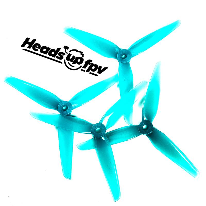 HQProp R38 Racing Props Light Blue