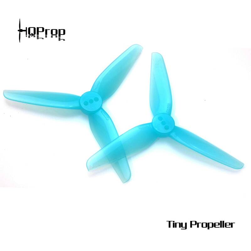 HQProp HeadsUp Tiny T3X1.8x3 2mm Blue