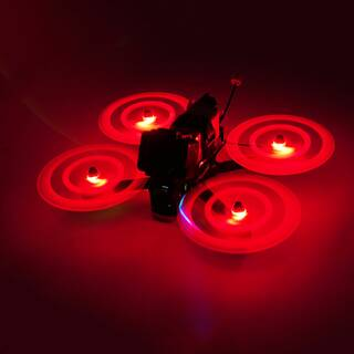 Gemfan Moonlight LED 51466 3-Blatt Propeller Red