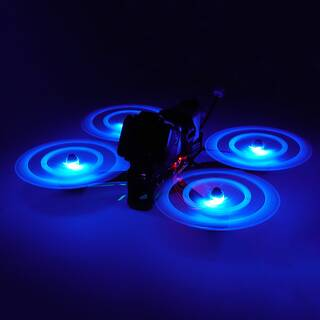 Gemfan Moonlight LED 51466 3-Blatt Propeller Blue